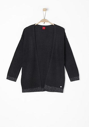 Cardigan with glittery details from s.Oliver