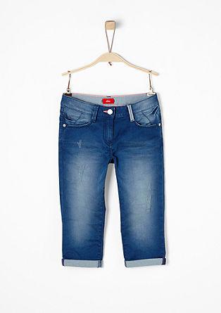 Skinny Suri: Pantacourt en jean de s.Oliver