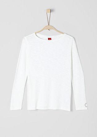 Jednoduché tričko zpříze slub
