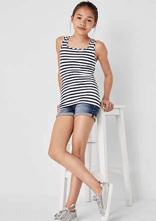 Pack of 2 jersey tank tops from s.Oliver