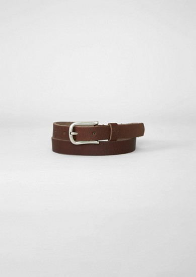 Thin leather belt from s.Oliver
