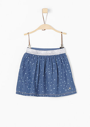 Star skirt with a sparkly waistband from s.Oliver