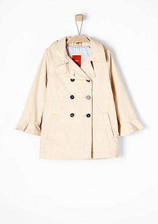 Coat with a hood from s.Oliver