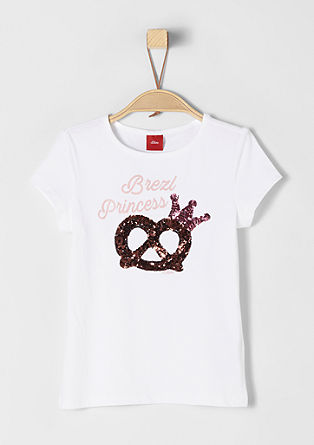 Oktoberfest T-shirt with sequins from s.Oliver