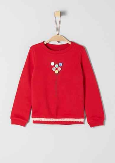 Trend-Sweatshirt mit Applikationen