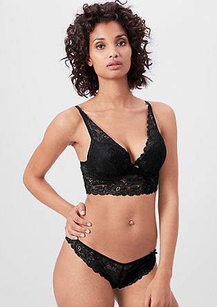 Push-up bustier-bh met kant