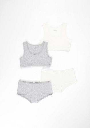 2er-Pack Bustier-Tops