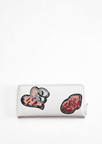 Zip Wallet mit Patches