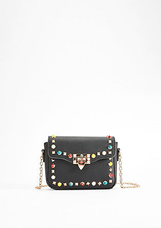 City Bag mit Acryl-Studs