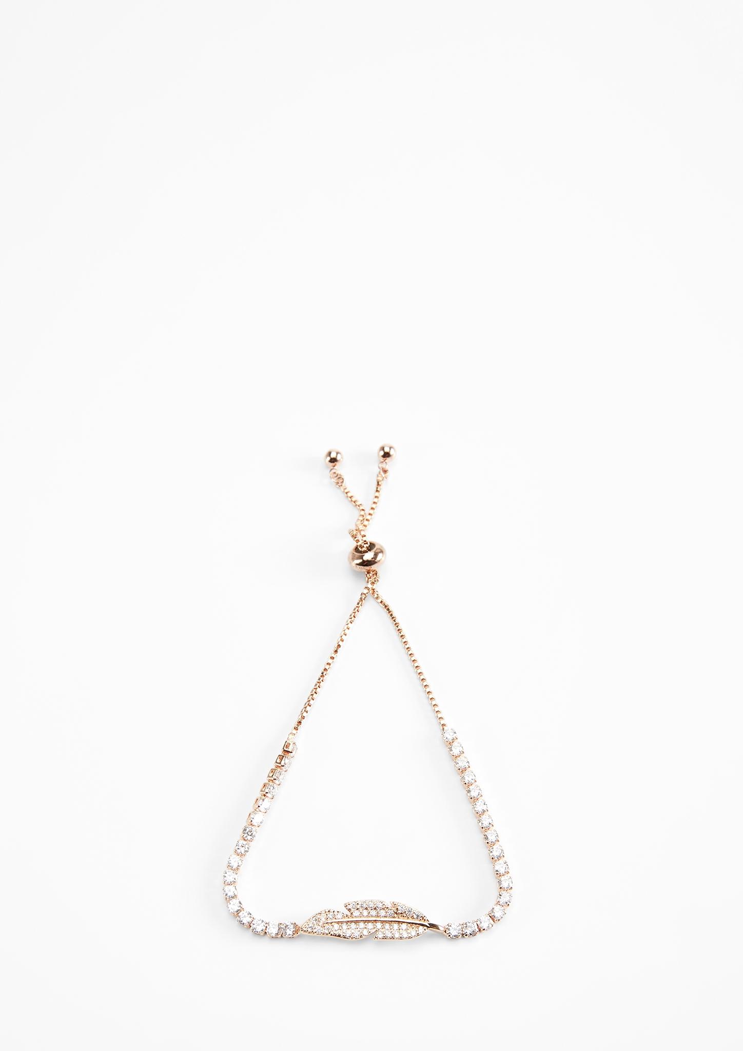 Armkette | Schmuck > Armbänder > Armketten | Gelb | Messing -  strasssteine | sweet deluxe