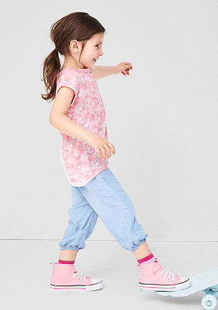 Capri jeans with cuffs from s.Oliver