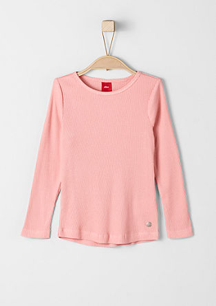Finely ribbed top from s.Oliver