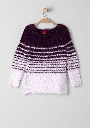Pullover aus Fancy-Garn