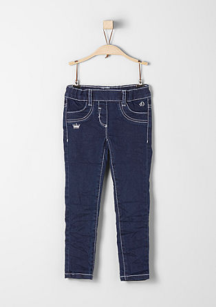 Treggings Skinny: embroidered jeans from s.Oliver