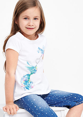 T-shirt with birds of paradise from s.Oliver