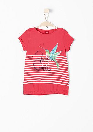 Printshirt mit Gummibund