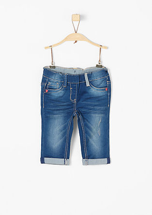 Treggings: Stretchige Capri-Denim