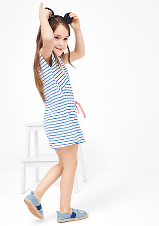 Jersey dress with stripes from s.Oliver