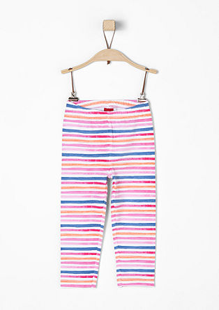 Striped leggings from s.Oliver