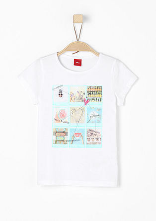 Summery print T-shirt from s.Oliver