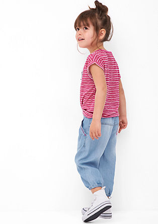 Light denim Capri trousers from s.Oliver