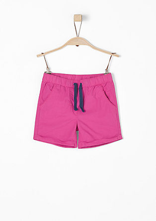 lightweight poplin shorts  from s.Oliver