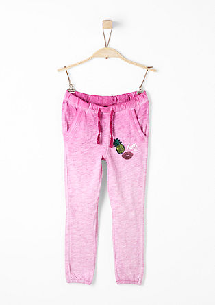 Garment Dye-Jogging Pants