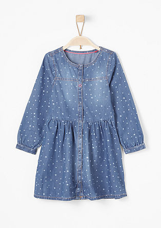 Denim dress with stars from s.Oliver