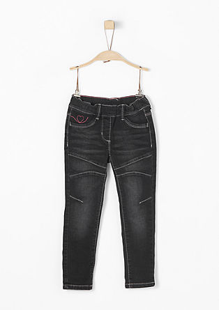 Treggings: Jeans mit Zierstitchings