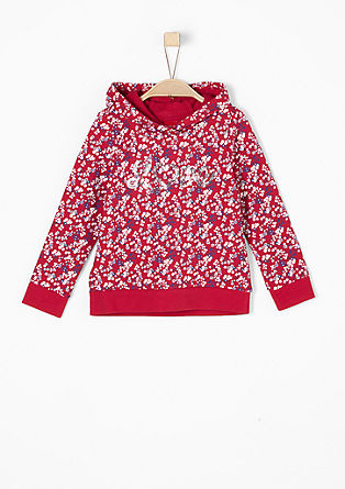 Lightweight mille-fleur sweatshirt from s.Oliver