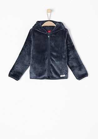 Cosy teddy plush jacket from s.Oliver