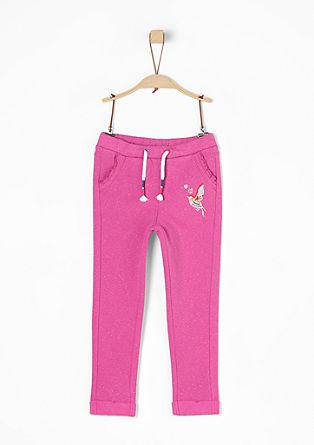 Jogg Pants mit Kolibri-Artwork