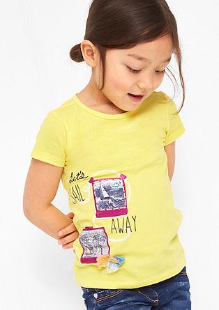 Jersey-Shirt mit Frontprint