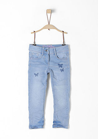 Kathy: Sommerliche Superstretch-Jeans