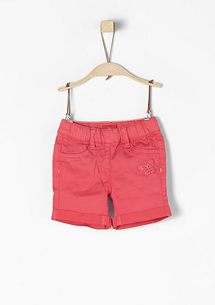 Shorts mit Applikation
