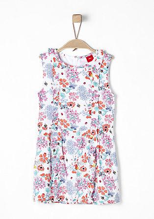 Květované šaty srýšky