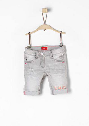 Kathy: Denim shorts in a vintage style from s.Oliver