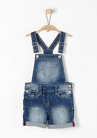 Short dungarees with a dolphin pattern from s.Oliver