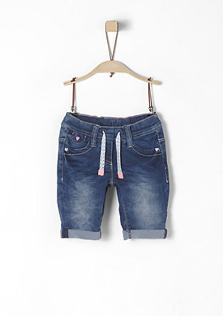Stretch denim Bermudas from s.Oliver