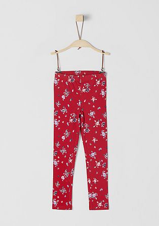 Floral print leggings from s.Oliver