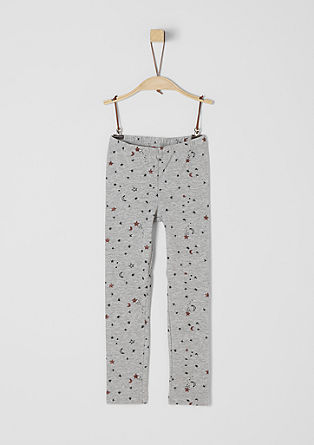 Leggings with glittery stars from s.Oliver