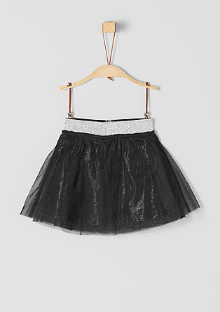 Tulle skirt with a glitter effect from s.Oliver