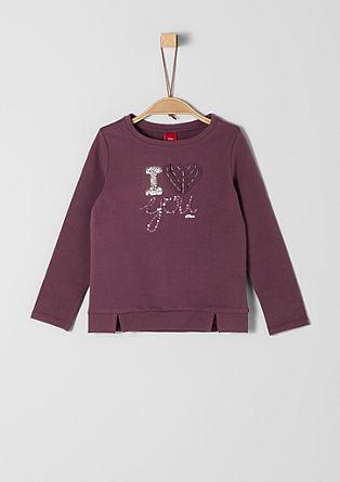 Schattig sweatshirt met artwork