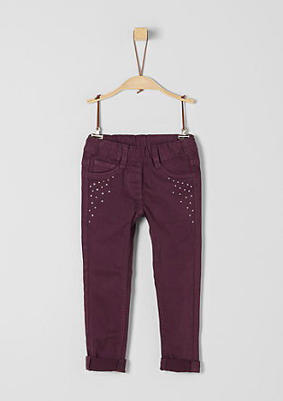 Treggings: Dekorierte Stretchhose