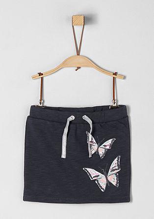 Sweatrock mit Butterfly-Artwork
