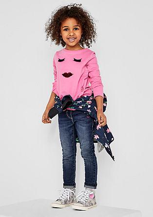 Treggings: Jeans mit Pailletten