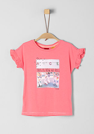 T-shirt met fotoprint