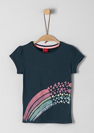 T-shirt au design scintillant de s.Oliver