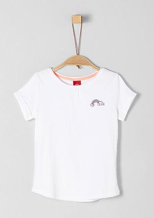 T-shirt à imprimé scintillant de s.Oliver