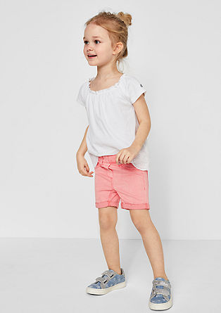 Casual twill shorts from s.Oliver